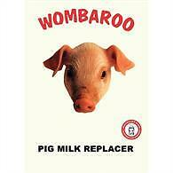Pig Milk Replacer 1kg or 5kg Wombaroo Feed Supplement Baby Powder Piglet Food