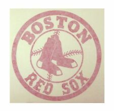 "Boston Red Sox High Quality Vinyl Decal 7"" x 7"" (Multiple Colors)"