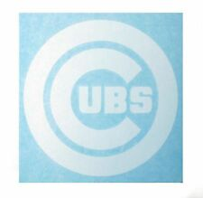 """Chicago Cubs High Quality Vinyl Decal 6.5"""" x 6.5"""" (Multiple Colors)"""