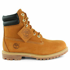 42687 Timberland Women's 6 Inch Waterproof Double Collar Boots Wheat All Sizes