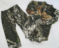 MOSSY OAK CAMO DIAPER SHIRT & PANTS CAMOUFLAGE BABY INFANT SET