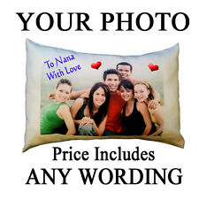 photo cushion,picture pillow with filling Photo and message cushion
