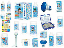 ClearWater Lay-Z-Spa Swimming Pool Hot Tub Chemicals Accessories Starter Kits