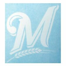 "Milwaukee Brewers High Quality Vinyl Decal 6.5"" x 7"" (Multiple Colors)"
