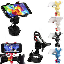 Motorcycle Bicycle MTB Bike Holder Handlebar Clip Stand Mount For Cellphone GPS