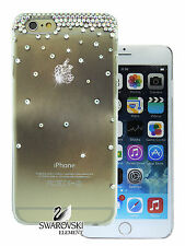 Rainfall Logo Swarovski AB Crystal Back Case Cover For  iPhone6s/iPhone6s Plus