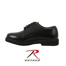 5085 Rothco Military Uniform Oxford Leather Shoes - Black