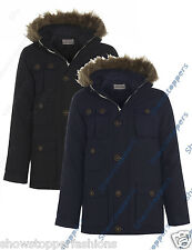 NEW BOYS PARKA JACKET COAT HOODED Boy Padded CLOTHING AGE 7 8 9 10 School Work