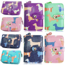 Fashion New Womens Girls Scotti Dog Zip Small Coin Purse Ladies Wallet Card Hold