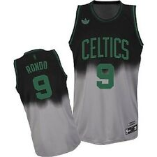 NBA Boston Celtics Rondo Basketball Fadeaway Swingman Jersey Shirt