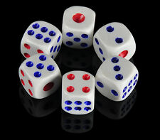 20pcs Opaque Six Sided Dice, Size 10mm 12mm 14mm - D6 RPG - Game Dice
