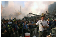 World Trade Center 9/11 September 11th Fire Chief  Photo 48 Free Shipping