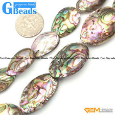 Abalone Shell Gemstone Loose Beads For Jewelry Making Free Shipping 2 & 6 Pcs