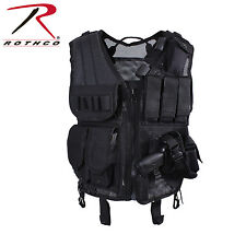 Rothco 6594 Quick Draw Tactical Vest - Black