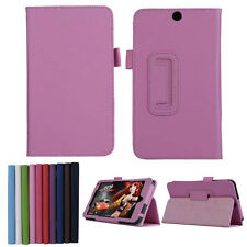 "Luxury Ultra Leather Stand Folding Folio Case Cover For 7"" HP Stream 7 Tablet PC"