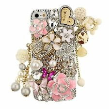 New S*ACT 3D Luxury Bling Crystal Rhinestone Diamonds Hard Back Case Cover