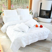 4 Seasons Bed Bedding Duvet Microfiber many sizes Sets with Pillow