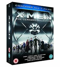 X-Men The Cerebro Collection 7 Movies Blu-ray Box Set DAYS OF FUTURE PAST NEW