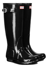 HUNTER ORIGINAL TALL GLOSS RHODONITE PINK WELLINGTON BOOTS Welly LIGHT NWT BN