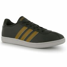 Adidas Neo Court Leather Mens Shoes Trainers Sneakers Sports Footwear Brwn/Tan