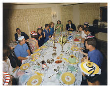 President John F. Kennedy Family Birthday For Father Joseph Silver Halide Photo