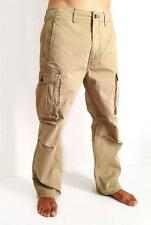 NEW LEVI'S STRAUSS MEN'S ORIGINAL RELAXED FIT CARGO I PANTS TAN 124620010