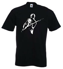 Flea RHCP red hot chili peppers guitar hero t shirt sizes