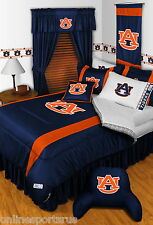 Auburn Tigers Bed in a Bag & Valance Comforter Set Twin Full Queen King