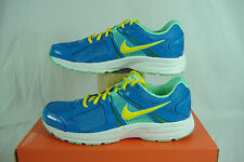 "New Womens Size 9 NIKE ""Dart 10"" Blue Yellow Running Shoes $60 580427-402"