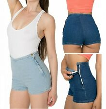 Sexy Women Vintage High Waist Classic Bodycon Denim Jean Short Hot Pants Shorts