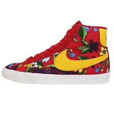 Wmns Nike Blazer Mid Textile Print Aloha Floral Red Womens Shoes 725084-601