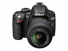 Nikon D3200 24.2 MP Digital SLR Camera - Black (Kit w/ AF-S VR DX 18-55mm..Lens.