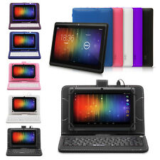 iRulu Android4.4 Quad Core Tablet PC 1.5GHz 1024*600 Wifi W/Gridding Keyboard 7""