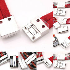 New 10Sets Silver Plated Magnetic Clasp Hooks Multi-Size For Bracelets DIY Gift