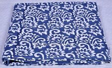 New 100% Cotton Printed Fabric Material Netural Dye Indian Hand Block Print
