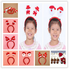 Christmas Xmas Novelty Headband Kids Adult Gloves/Reindeer /Santa Claus /Snowman