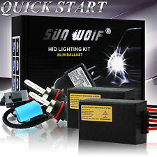 35/55W Xenon HID Headlight Conversion Light Ballast KIT H1 H3 H7 H9 H/L H4 9007