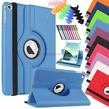 "For Apple iPad mini 4 7.9"" PU leather case stand cover 360 rotation smart covers"