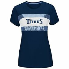 NWT NFL Tennessee Titans Women's Navy/Blue Sequin Team Tee - Size Medium