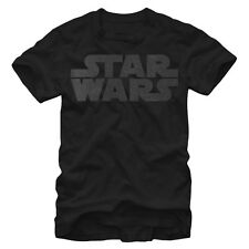 Star Wars Simple Logo Mens Graphic T Shirt