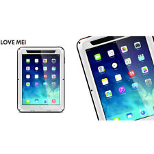 Aluminum Metal Waterproof Shockproof Gorilla Glass Case Cover For iPad mini 1/ 2