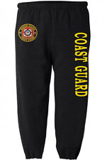 US Coast Guard sweatpants Men's size us coast guard sweats sweat pants black