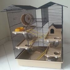 Hamster Cage, Hamster Lodge, Rodent Cage, Mouse Cage, Cage, Cages 4 Colors
