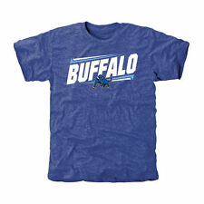 Buffalo Bulls Royal Double Bar Tri-Blend T-Shirt