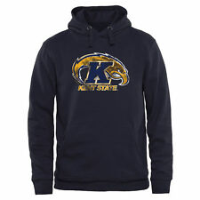 Kent State Golden Flashes Navy Classic Primary Pullover Hoodie