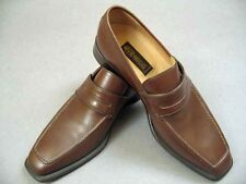 NIB $800 Sutor Mantellassi Dark Brown Leather Loafer