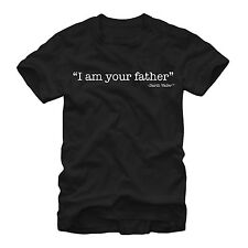 Star Wars Vader I am Your Father Mens Graphic T Shirt