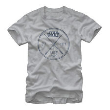 Star Wars A New Hope Lightsabers Mens Graphic T Shirt