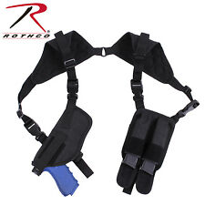 Rothco 10985 Ambidextrous Shoulder Holster - Black
