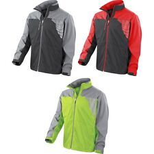 Mens Spiro Team 3 Layer Softshell Reflective Cycling Cyclist Jacket Top